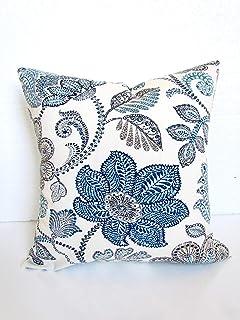 Cuscini Azzurri.Amazon It Marrone Azzurro Cuscini Decorativi E Accessori