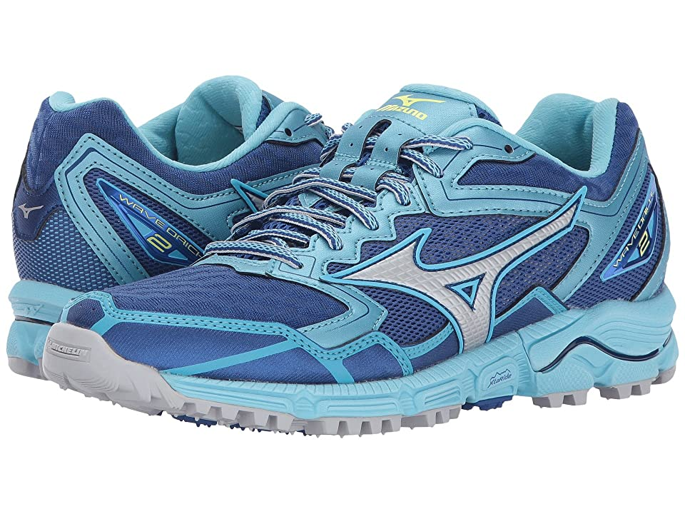 Mizuno Wave Daichi 2 (Blue/Micro Chip/Blue Topaz) Girls Shoes