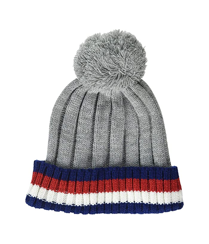 ced290474 Tommy Hilfiger Chunky Global Stripe Pom Hat at Zappos.com