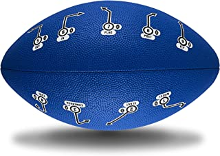 PlayCoach Junior's Unique Grip Youth Football for Kids Endorsed by MVP Drew Brees