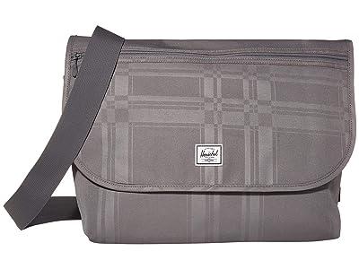 Herschel Supply Co. Grade (Quiet Shade Plaid) Messenger Bags