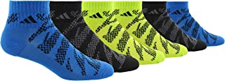 adidas Youth Kids-Boy's/Girl's Tiger Style Quarter Sock (6-Pair)