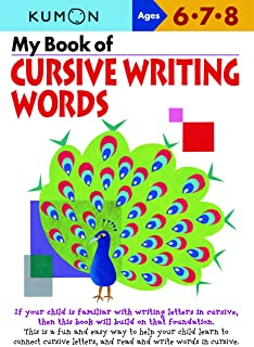 My Book of Cursive Writing: Words
