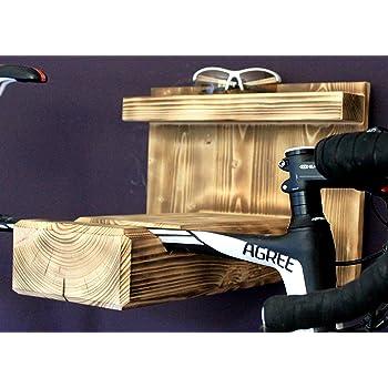 Fahrrad Wandhalterung Holz Rennrad Mountainbike Fahrradhalter Fahrradhalterung
