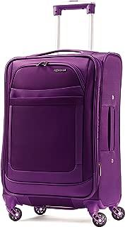 american tourister ilite max softside spinner 25 purple