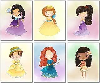 Disney Princess Kids (Set Four - 6 Prints)