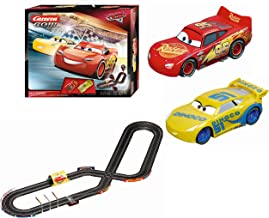Carrera GO Carrera GO!!! Disney Pixar Cars Fast Friends Slot Car Race Track Set Lightning McQueen/Dinoco Cruz