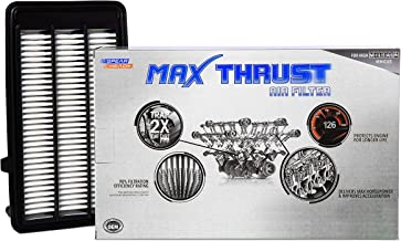 Spearhead MAX THRUST Performance Engine Air Filter For Low & High Mileage Vehicles - Increases Power & Improves Acceleration (MT-050)