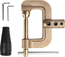 HITBOX G Ground Welding Earth Clamp 0.75kg Full Cooper 400A High Standard Solid Brass Earth Clamp for Industrial Use
