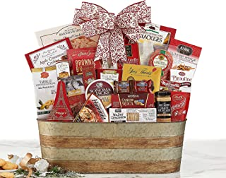 Van's Gifts Celebration Party Pick Gourmet Food Gift Basket With Ribbon. It's A Party In a Bag.