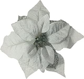 Best white poinsettia fake Reviews
