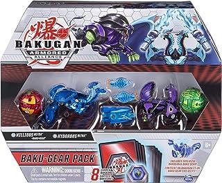 Bakugan 6059463 Uitrustingspakket met 4 Armored Alliance Bakugan (Ultra Aquos Nillious, Ultra Darkus Hydorous, Basic Pyrus...