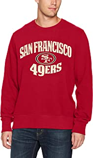 OTS Mens NFL Men's OTS Fleece Crew Distressed