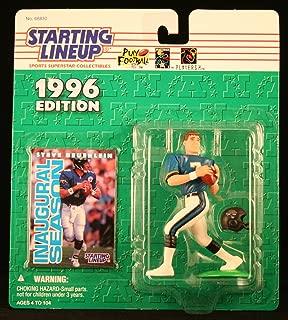 Starting Lineup Steve BEUERLEIN / Jacksonville Jaguars 1996 NFL Action Figure & Exclusive NFL Collector Trading Card