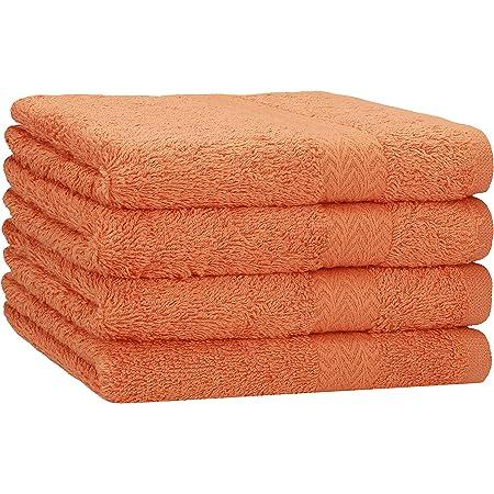 A/&R Towels Print-Me Serviette essuie-Mains Gris Anthracite Taille Unique 50 x 100 cm