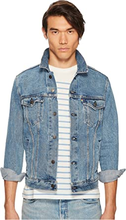 Premium Pride Denim Trucker Jacket