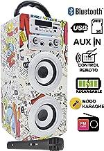 DYNASONIC 025-2 Altavoz Inalámbrico Portatil   Bluetooth,