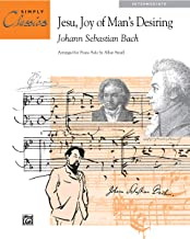 Jesu, Joy of Man's Desiring: Sheet (Simply Classics Solos)