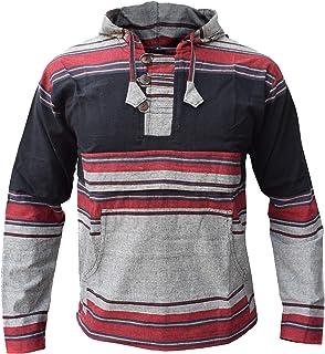 Sudadera con capucha para hombre, mezcla de colores y gris
