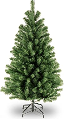 National Tree Company Artificial Christmas Tree | Includes Stand | North Valley Spruce - 4 ft