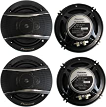 PIONEER TS-A1676R 6.5 Inch 3-Way 320 Watt Car Coaxial Stereo Speakers Four (4) Speakers Included photo