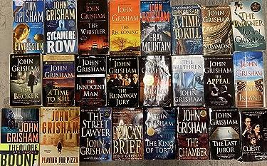 John Grisham's Complete Novels 24 Book Set