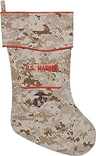 U.S. Marines Christmas Stocking - Marpat Desert Fabric