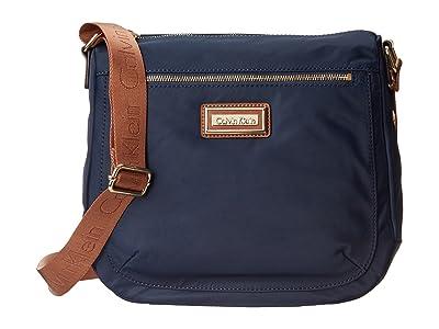 Calvin Klein Key Item Nylon Messenger H3JFE1CW (Navy) Cross Body Handbags