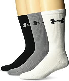 Under Armour Men's Elevated Performance Crew Socks (3 Pack)