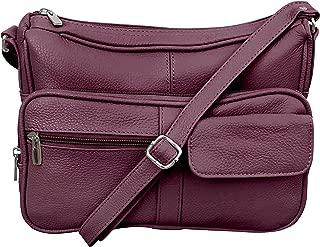 Women's Leather Crossbody Shoulder Bag
