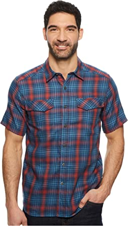 Merinolux Plaid Short Sleeve Shirt