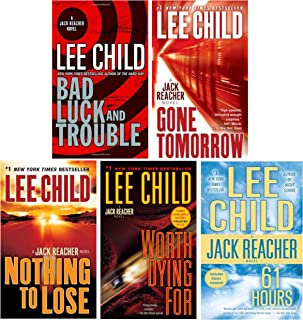 Jack Reacher Collection #3 (volumes 11-15) by Lee Child, Includes: Bad Luck and Trouble; Nothing To Lose; Gone Tomorrow; 6...
