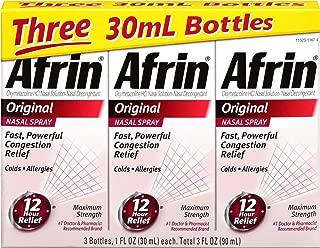 Afrin Original Nasal Spray, 3 Count