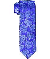 Eton - Pine Paisley Silk Tie