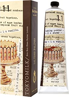 TOKYOMILK Bon Bon Shea Butter Lotion, Let Them Eat Cake, 2.3 Fl Oz