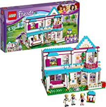 LEGO Friends Stephanie's House 41314 Build and Play Toy House with Mini Dolls, Dollhouse Kit (622 Pieces)