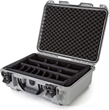Nanuk 930 Waterproof Hard Case with Padded Dividers - Silver - Made in Canada