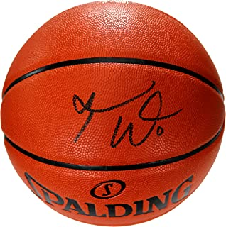 Russell Westbrook Houston Rockets Signed Autographed Spalding Game Ball Series Basketball PAAS COA