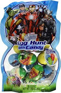 Avengers Easter Egg Hunt with Candy, 16 count 2.82 oz