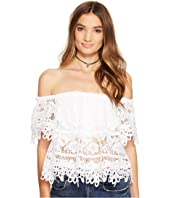 Free People - Sweet Dreams Lace Crop Top
