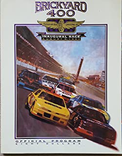 Brickyard 400, Indianapolis Motor Speedway. Inaugural Race, Aug. 6, 1994. Official Program.