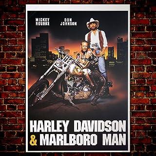 Póster Cinema Harley Davidson & Marlboro Man – Formato: 70 x 100