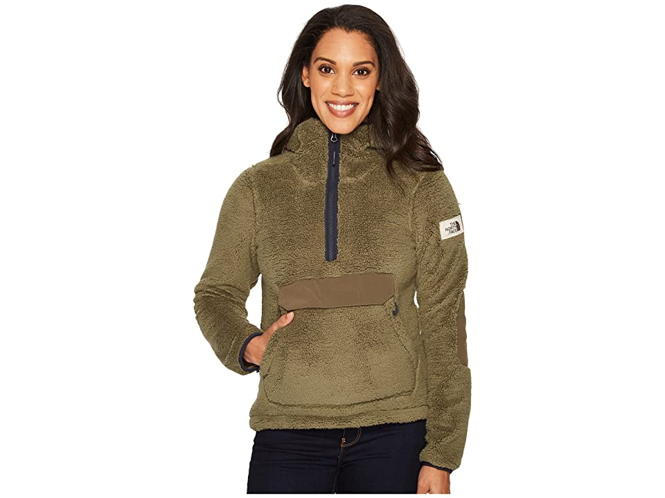 The North Face Campshire Pullover Hoodie (Four Leaf Clover) Women