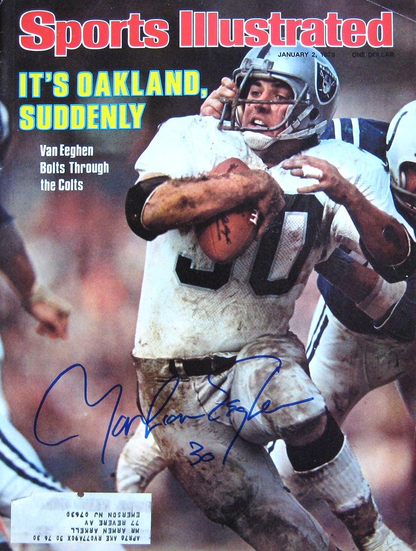 VanEeghen Mark 1 2 autographed 78 Oklahoma City Same day shipping Mall magazine