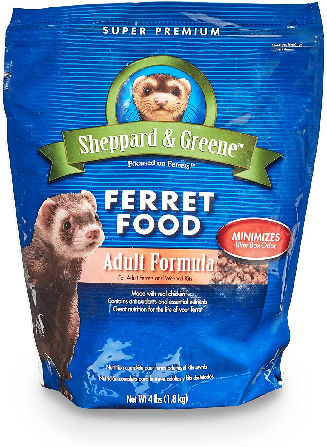 Farnam Sheppard And Greene Adult Ferret Food, 4Pound
