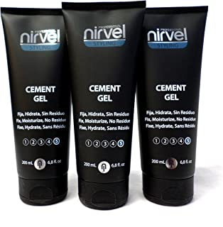Nirvel Professional Styling Cement Gel (200 ml each)- Buy 2, Get 3rd FREE