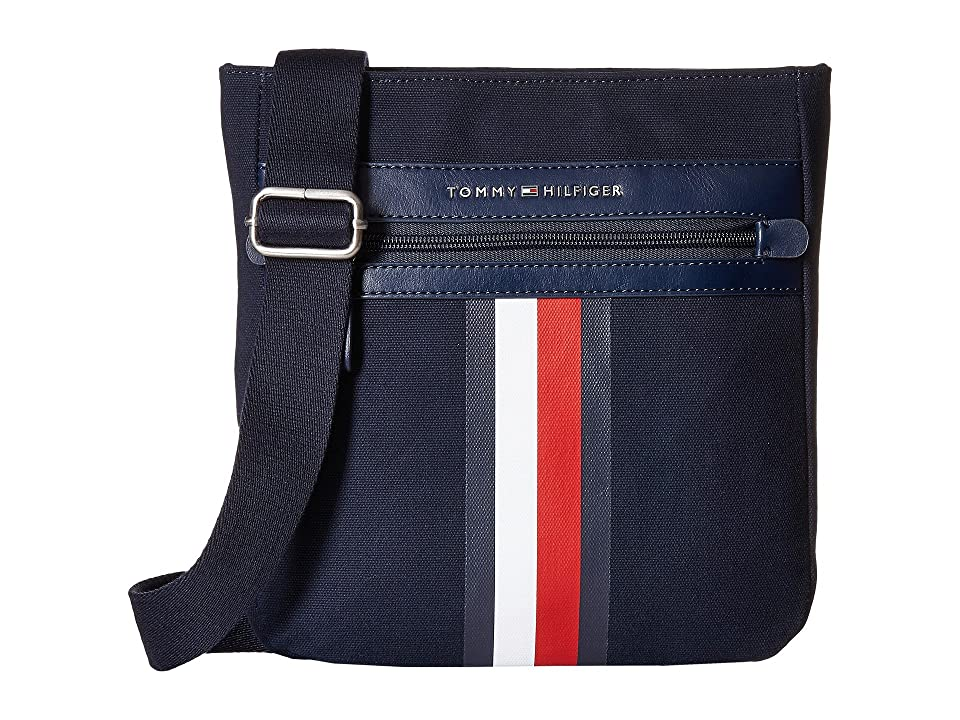 Tommy Hilfiger Icon Crossbody Canvas (Tommy Navy) Cross Body Handbags