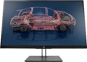 """HP Z27n G2 - Monitor profesional de 27"""" ajustable en altura (QHD antireflejo; 2560 X 1440; IPS LED; 350 cd/m; 5ms; 99% sRGB; 8bits; 16:9; DVI-D; HDMI 1.4; DisplayPort 1.2, 2 x USB-C; 2 x USB 3.0)"""