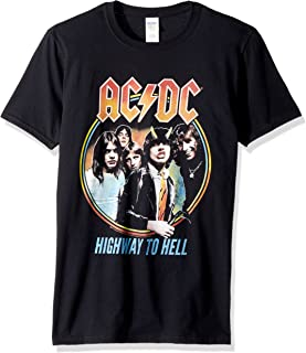 American Classics ACDC Highway to Hell Tricolor Adult Short Sleeve T-Shirt