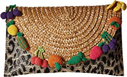 Fruit Straw Clutch